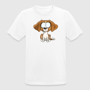 I Am Beagle Lemon - Andningsaktiv T-shirt herr