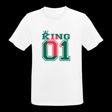 country partner king 01 prince Bangladesh - Men's Breathable T-Shirt