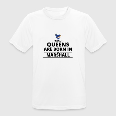 GIFT QUEENS LOVE FROM MARSHALL ISLANDS - Men's Breathable T-Shirt