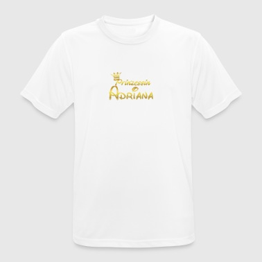 PRINCESS PRINCESS QUEEN GIFT Adriana - Men's Breathable T-Shirt