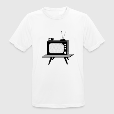 TV - Men's Breathable T-Shirt