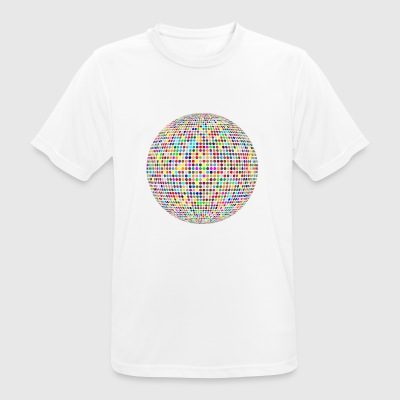 disco ball - Men's Breathable T-Shirt