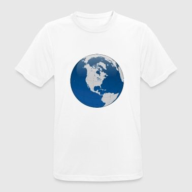 globe - Men's Breathable T-Shirt