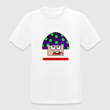 Angry mushroom - Men's Breathable T-Shirt