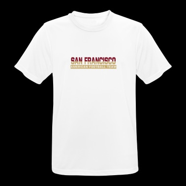 San Francisco Football - mannen T-shirt ademend