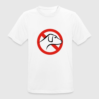 NO DOG - Herre T-shirt svedtransporterende