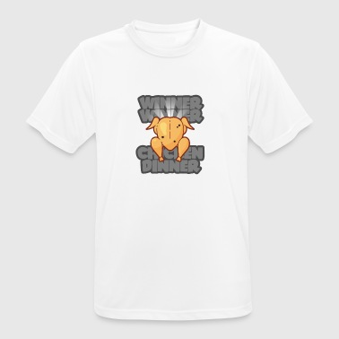 WINNER WINNER CHICKEN DINNER PUBG GAMING MOTIV - Männer T-Shirt atmungsaktiv