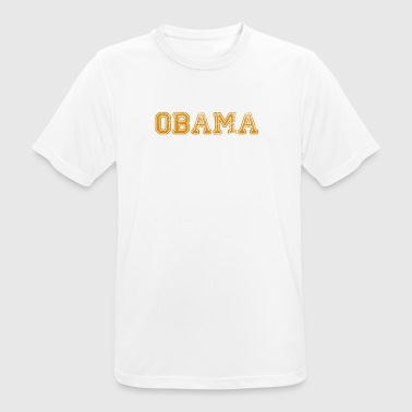 Obama 44 - Herre T-shirt svedtransporterende
