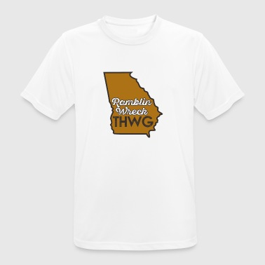 Ramblin Wreck THWG Game Day Football - Men's Breathable T-Shirt