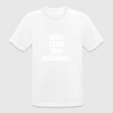 More Extra Than Guacamole White - Men's Breathable T-Shirt