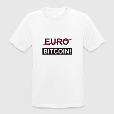 Euro Bitcoin - Men's Breathable T-Shirt