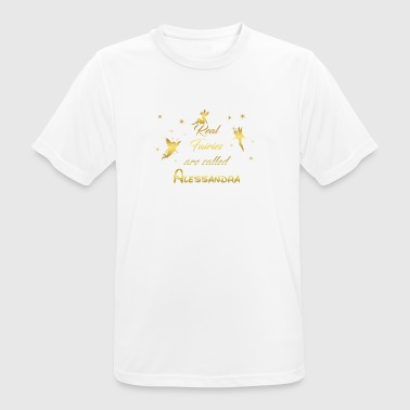 Fairy Fairies First Name Alessandra - Men's Breathable T-Shirt
