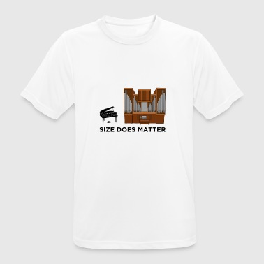 SIZE DOES MATTER - Men's Breathable T-Shirt