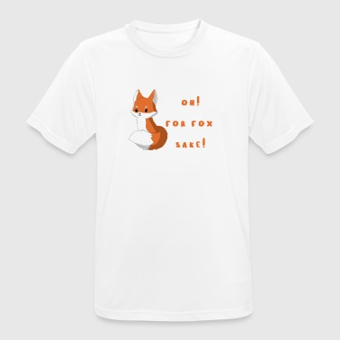 Fox - Foxes - Damned - Gift - Fox - Men's Breathable T-Shirt