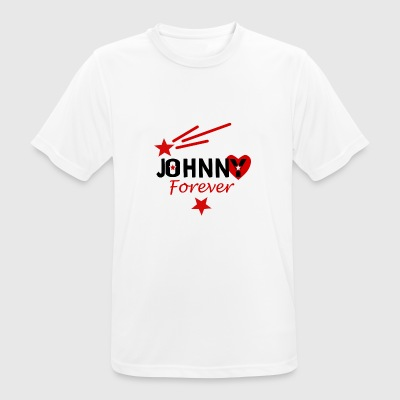 Johnny evigt - Herre T-shirt svedtransporterende