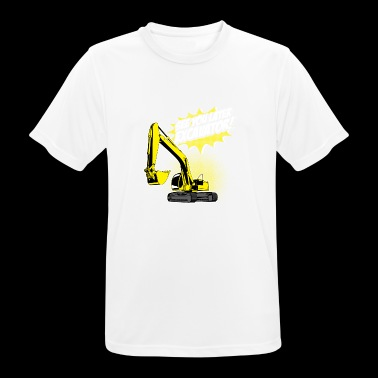 funny excavator shirt / gift for excavator driver - Men's Breathable T-Shirt