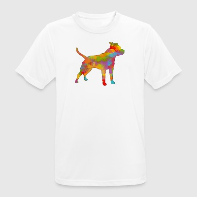 Am'Staff Multicolor - Männer T-Shirt atmungsaktiv