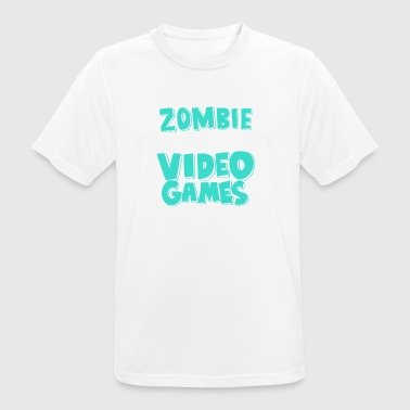 Zombie Apocalypse Video Games Prepared Me Gift - Men's Breathable T-Shirt