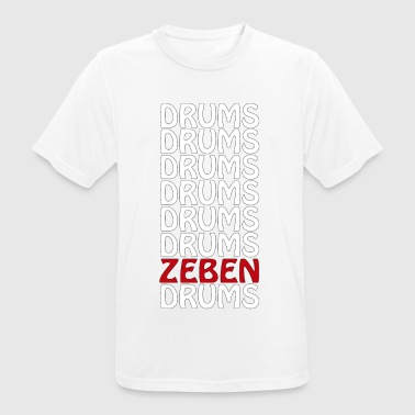 DRUMS ZEBEN DRUMS - Camiseta hombre transpirable