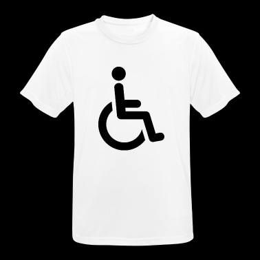 fauteuil roulant - T-shirt respirant Homme