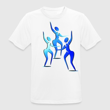Trio silhouettes 2 - Men's Breathable T-Shirt