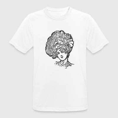 Woman hairstyle - Men's Breathable T-Shirt