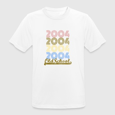 Old School 2004 - Camiseta hombre transpirable