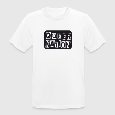 Queer Nation - Men's Breathable T-Shirt