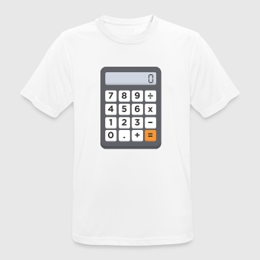 calculator - Men's Breathable T-Shirt