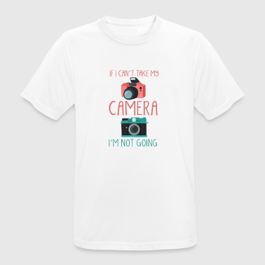 Gift Photographer Camera Camera Cam Photos - Men's Breathable T-Shirt