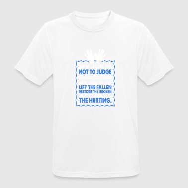 Massage Therapists Heal Hurting Shirt - Herre T-shirt svedtransporterende