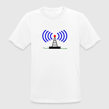 ondes tour radio Radio Communications - T-shirt respirant Homme