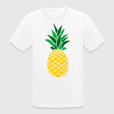 Colored PineApple Clothing Collection - Männer T-Shirt atmungsaktiv