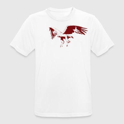 red eagle - mannen T-shirt ademend