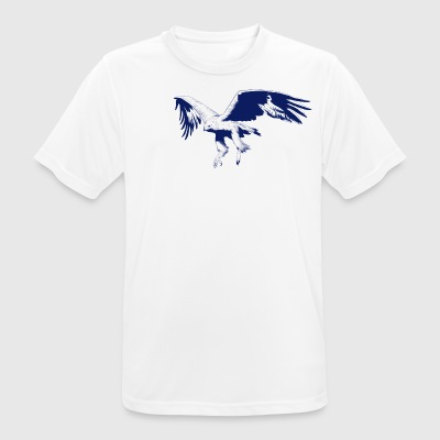 blue eagle - mannen T-shirt ademend