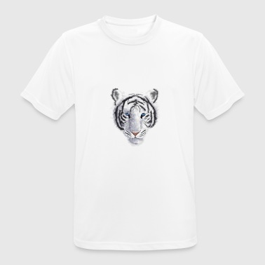 White Tiger - Men's Breathable T-Shirt