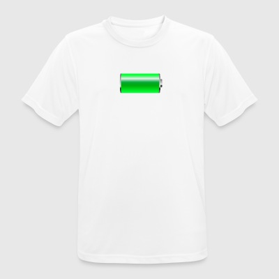Battery - Men's Breathable T-Shirt