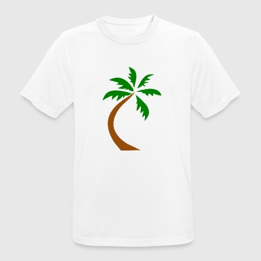 Crooked palm - Men's Breathable T-Shirt