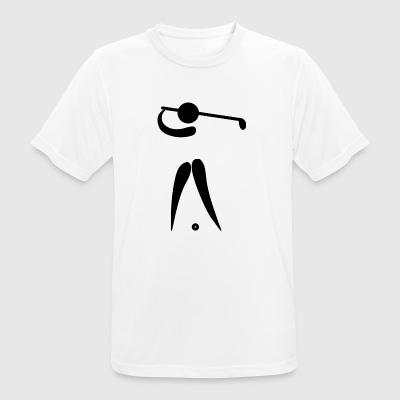 golf golfer golfen playing player ball sports39 - Men's Breathable T-Shirt