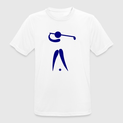 golf golfer golfen playing player ball sports30 - Men's Breathable T-Shirt