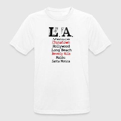LOS ANGELES - Herre T-shirt svedtransporterende