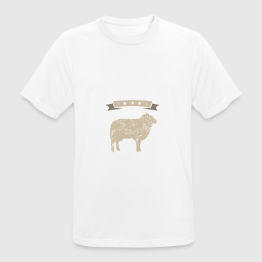 J'adore Sheep I love cadeau - T-shirt respirant Homme
