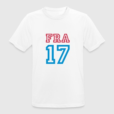 FRANCE 2017 - T-shirt respirant Homme