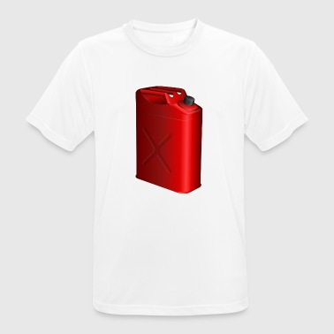 Gasoline canister - Men's Breathable T-Shirt