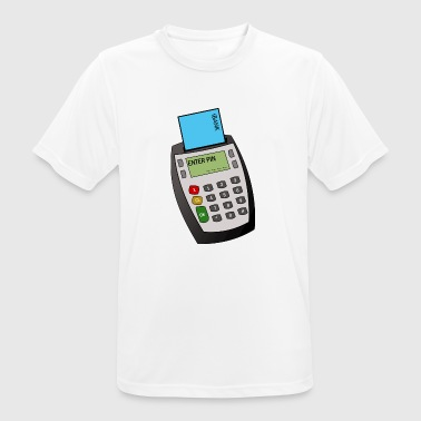 Chip and Pin Machine - Men's Breathable T-Shirt