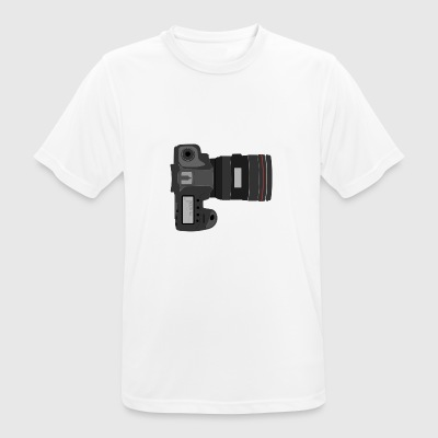 camera - mannen T-shirt ademend