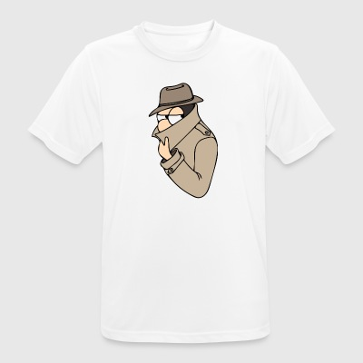 incognito - mannen T-shirt ademend