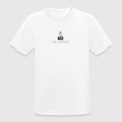 Bad Influence - Andningsaktiv T-shirt herr