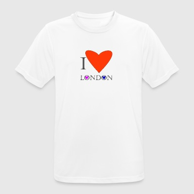 I Love London 1A - Men's Breathable T-Shirt