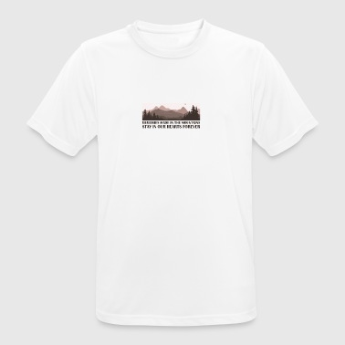 Mountain - Men's Breathable T-Shirt